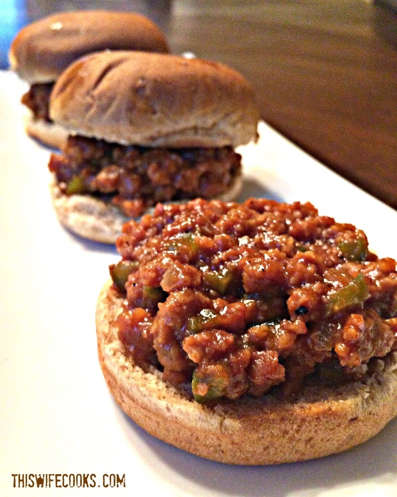 A deliciously meatless and vegan version of the classic Sloppy Joe!