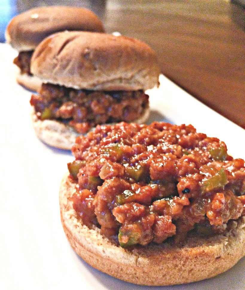 Vegan Sloppy Joe Sliders - A hearty and delicious vegan version of the Classic Sloppy Joe sandwich! via @thiswifecooks