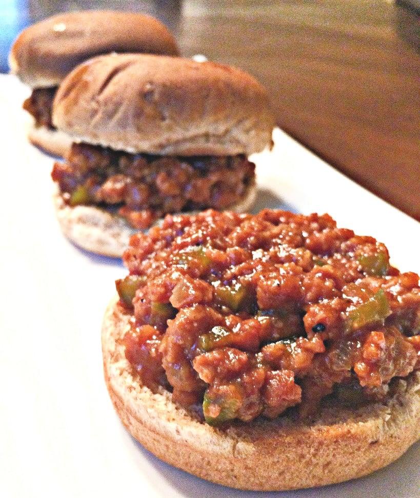 Vegan Sloppy Joe Sliders - A hearty and delicious vegan version of the Classic Sloppy Joe sandwich! via @thiswifecooks