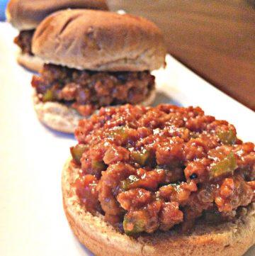 Vegan Sloppy Joe Sliders | A delicious vegan version of the Classic Sloppy Joe!