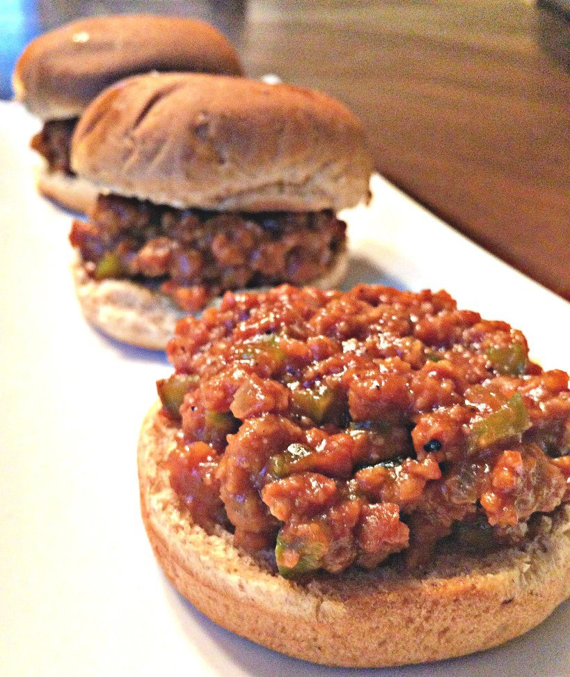 Vegan Sloppy Joe Sliders