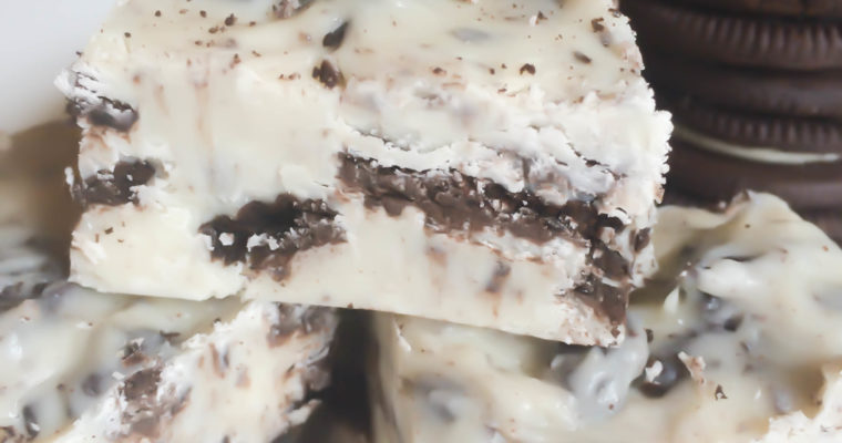 Oreo Cookies and Cream Fudge