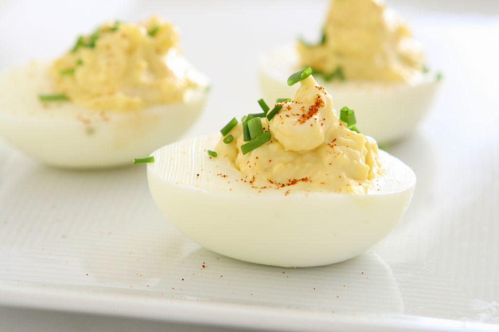 Classic Stuffed Eggs | thiswifecooks.com