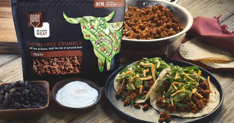 Beyond Meat Feisty Tacos by Chef'd