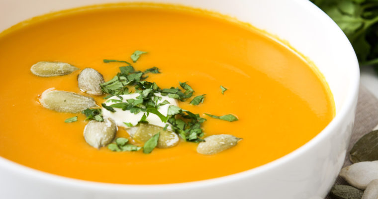 Vegan Curried Pumpkin Soup