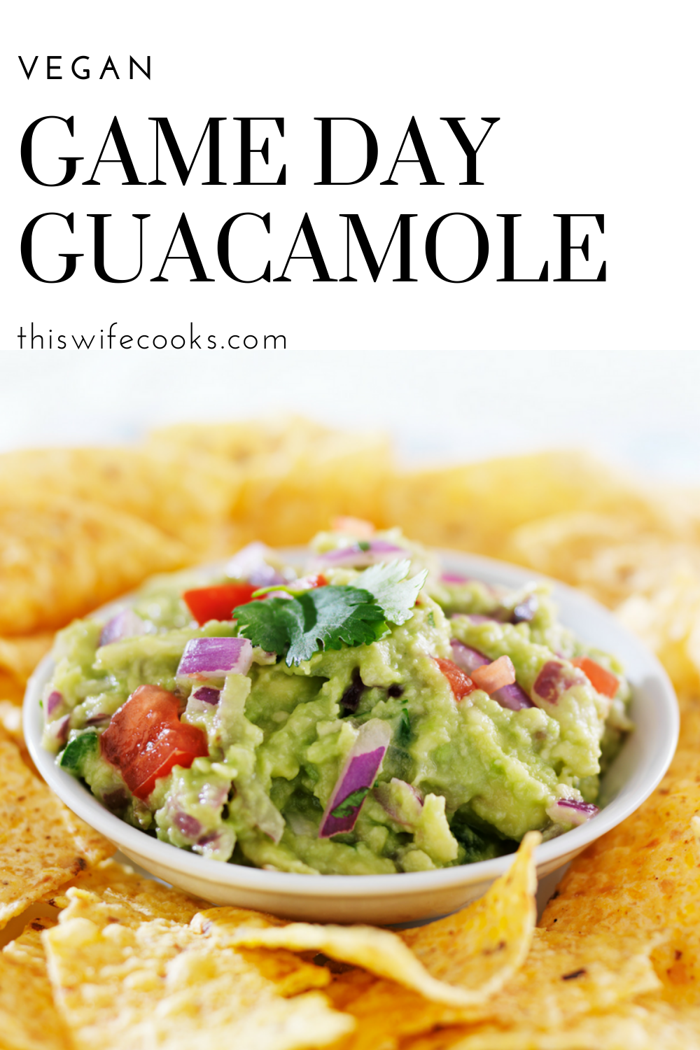 Game Day Guacamole - You just can't beat the flavor of fresh!  Whip up a quick and easy batch of fresh guacamole in minutes!  via @thiswifecooks