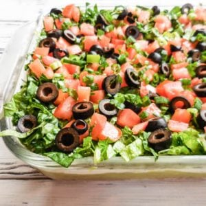 Vegan 7 Layer Party Dip