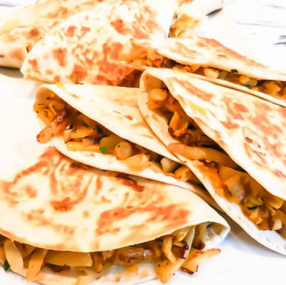 Southwest Hash Brown Quesadillas
