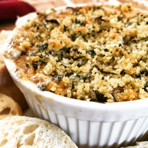 "Vegan Stuffed Mushroom Dip | I knew this dip was a hit when I set it out as part of our pre-Thanksgiving snack spread and my meat and dairy-loving son declared, ""Mom, this dip is insane!"" I don't know what else to tell you other than, make it, then kick back and accept the compliments. 