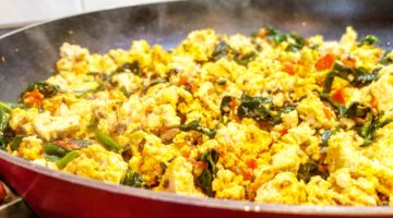 Saturday Morning Tofu Scramble