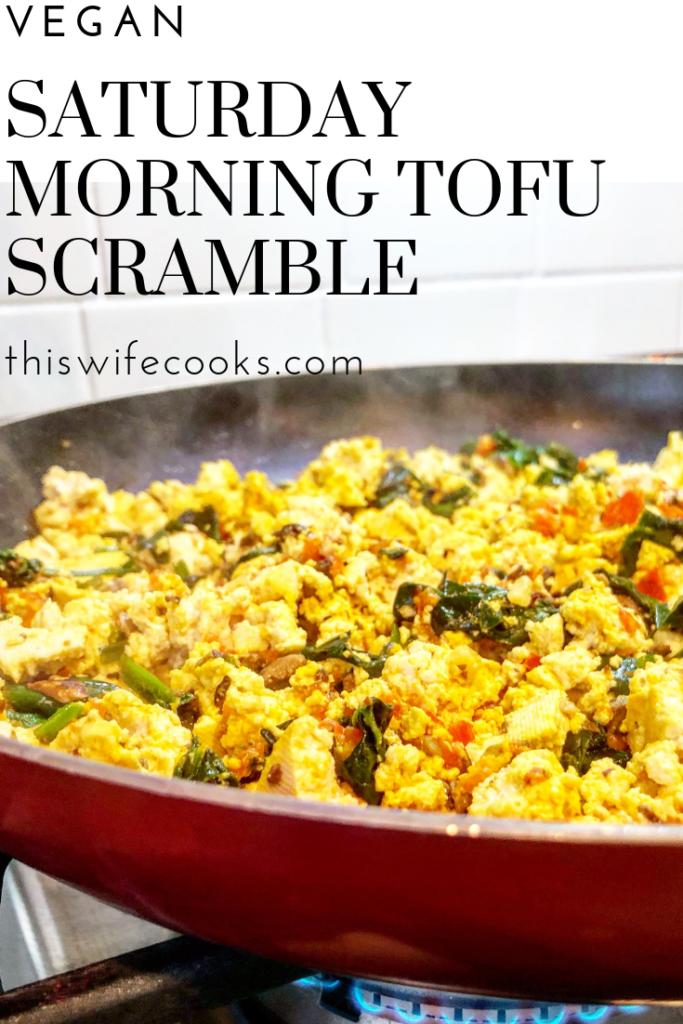 Tofu Scramble | Easy | Dairy Free | Vegan