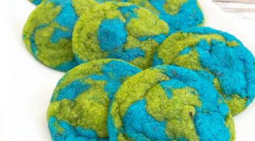 Vegan Earth Day Cookies