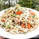 Spaghetti Artichoke Barigoule