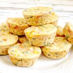 Mini Vegan Quiche Cups