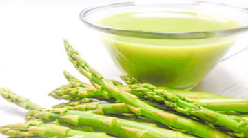 Easy Vegan Chilled Asparagus Soup