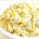 Whole Grain Mustard Mashed Potatoes
