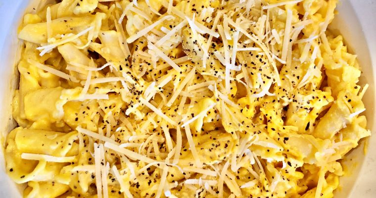 Creamy Vegan Butternut Squash Pasta