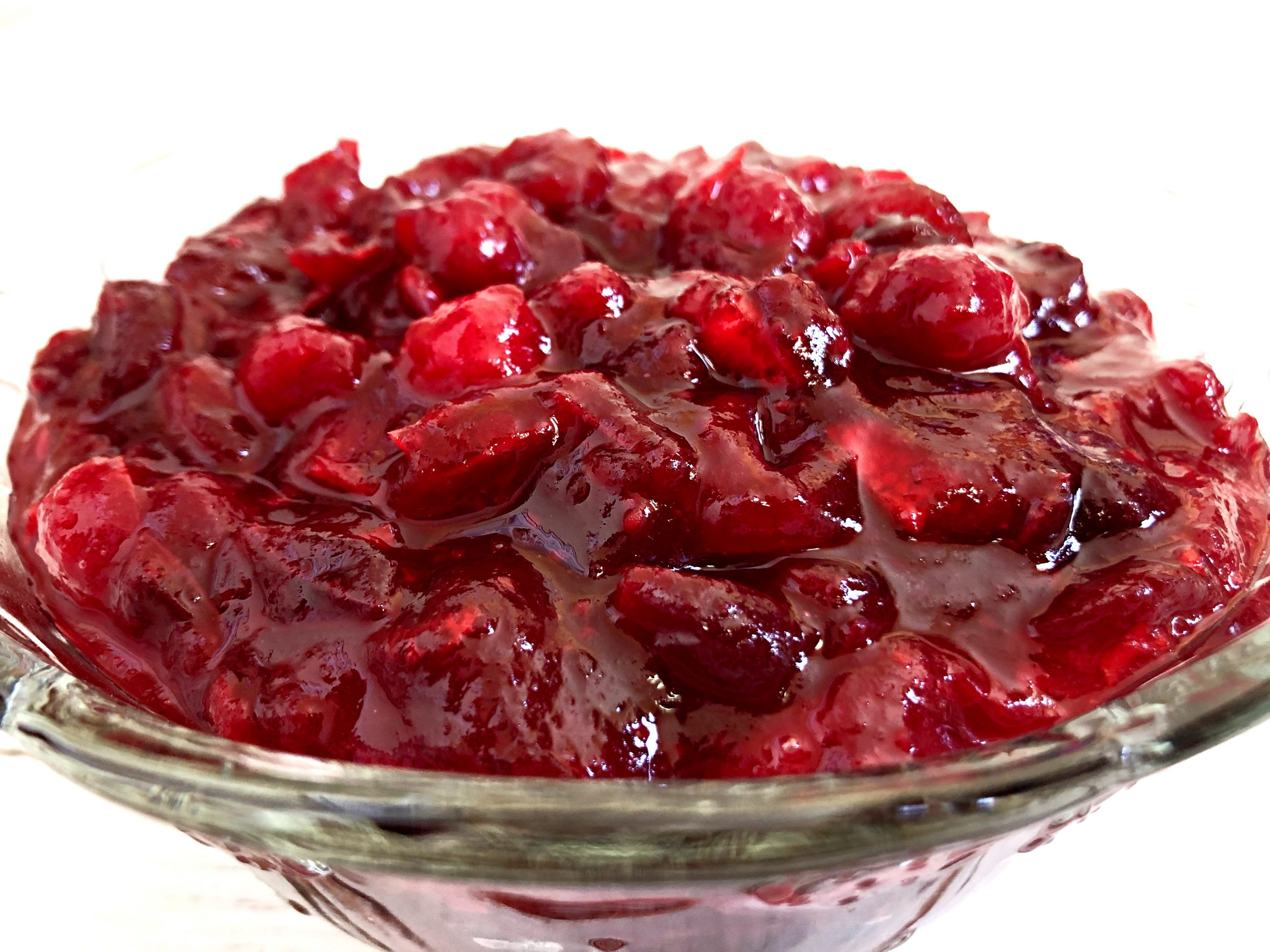 Thanksgiving Cranberry Sauce