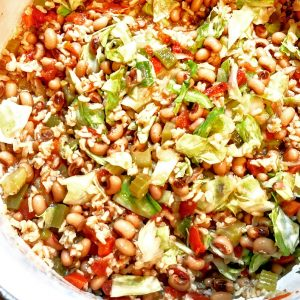 Vegan Black Eyed Pea and Cabbage Stew - Kick off the new year with hearty and healthy vegan black-eyed pea and cabbage stew!