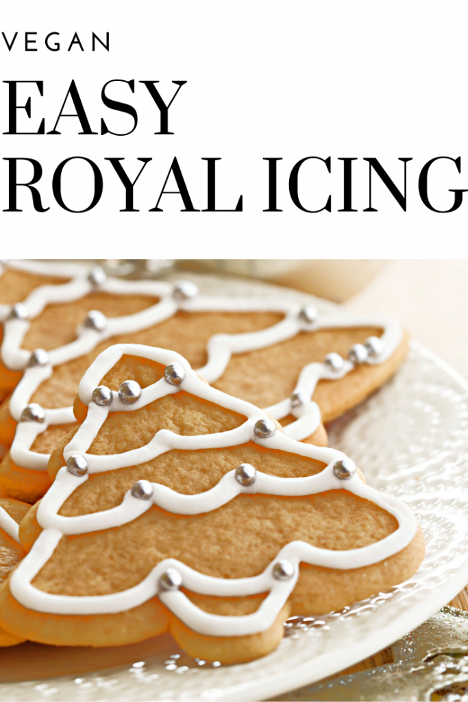 Easy Vegan Royal Icing