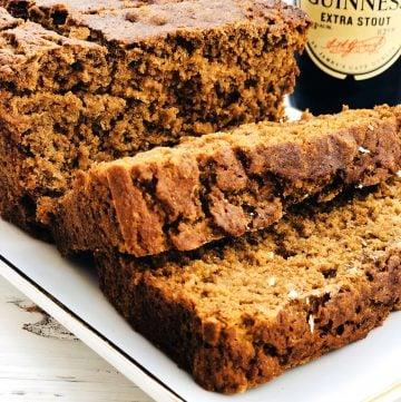 Vegan Irish Stout Brown Bread