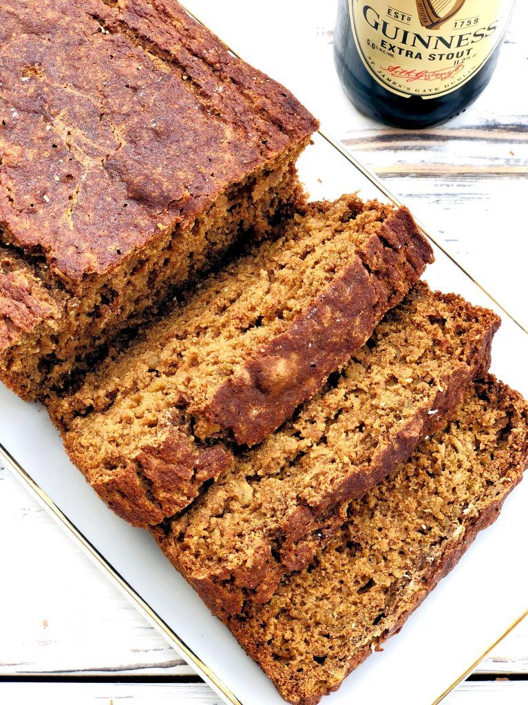 Vegan Irish Stout Brown Bread