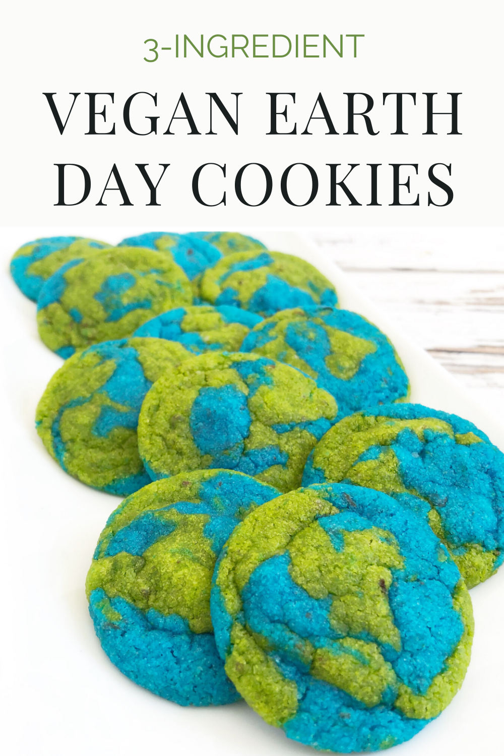Vegan Earth Day Cookies! These semi-homemade and dairy-free cookies are super easy and fun to make. Perfect for Earth Day! #earthdayrecipes #veganearthday #earthdaycookiesrecipe #earthdaycookiesforkids #earthdaycookiessugar #earthdaycookiesvegan #kidsbakingideasfun #kidsbakingideaseasy via @thiswifecooks