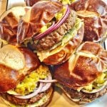 Beyond Impossible Vegan Burgers and Sliders - This recipe yields 6 thick pub-style burgers or 12 hearty sliders. Perfect for cookouts or tailgating, these 100% plant-based burgers will satisfy even the most hardcore carnivores in the crowd.