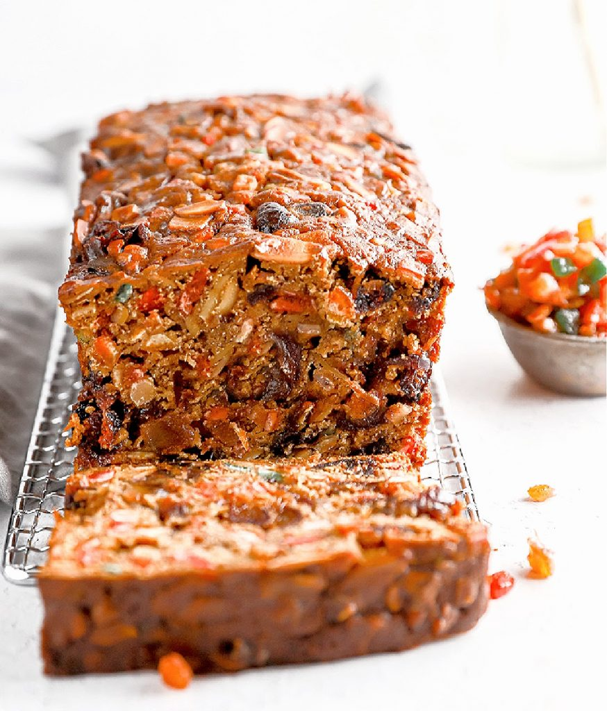 Christmas Fruitcake ~ A classic Old English style fruitcake that is rich, easy to make, and perfect or the holiday season!