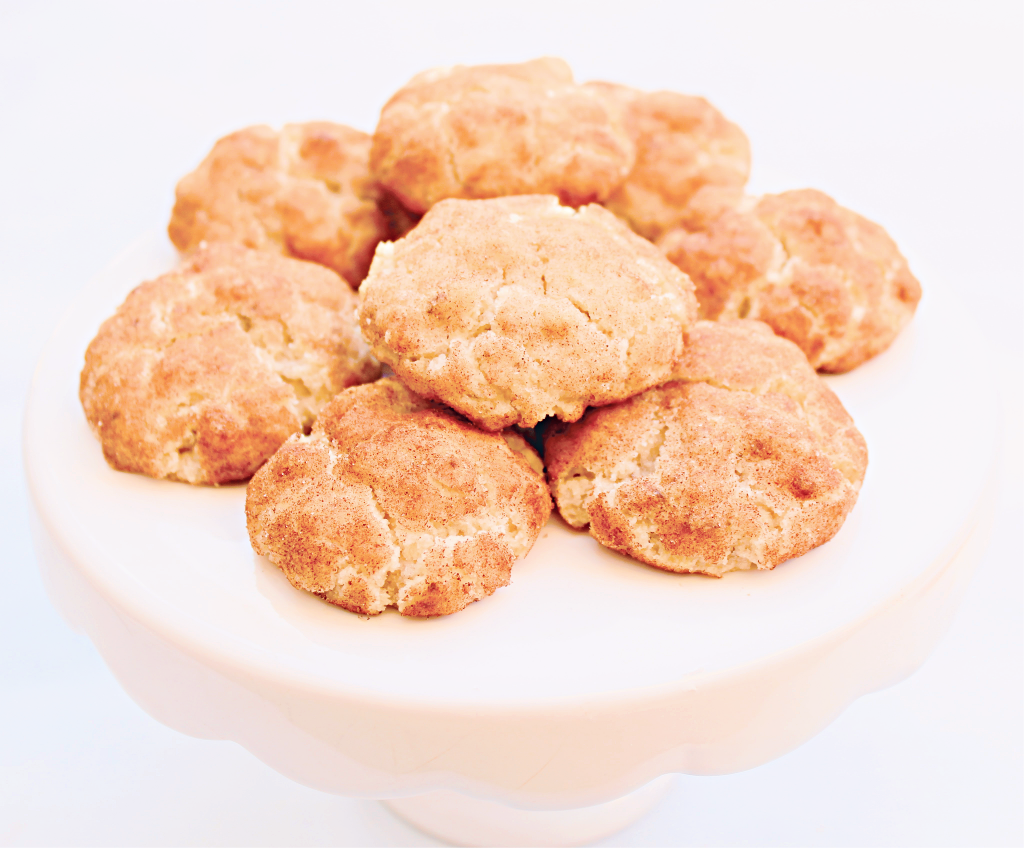 Vegan Snickerdoodles ~A dairy-free recipe for the classic cookie! Perfect for the holidays!