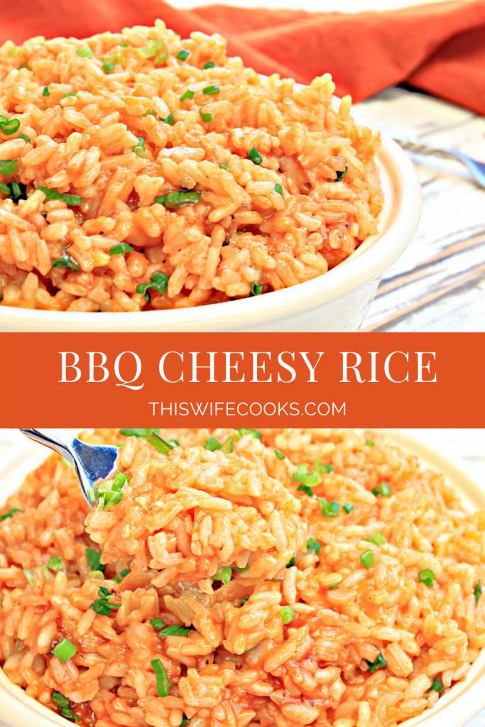 BBQ Cheesy Rice
