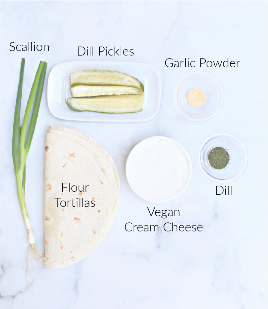 Pickle Pinwheel ingredients