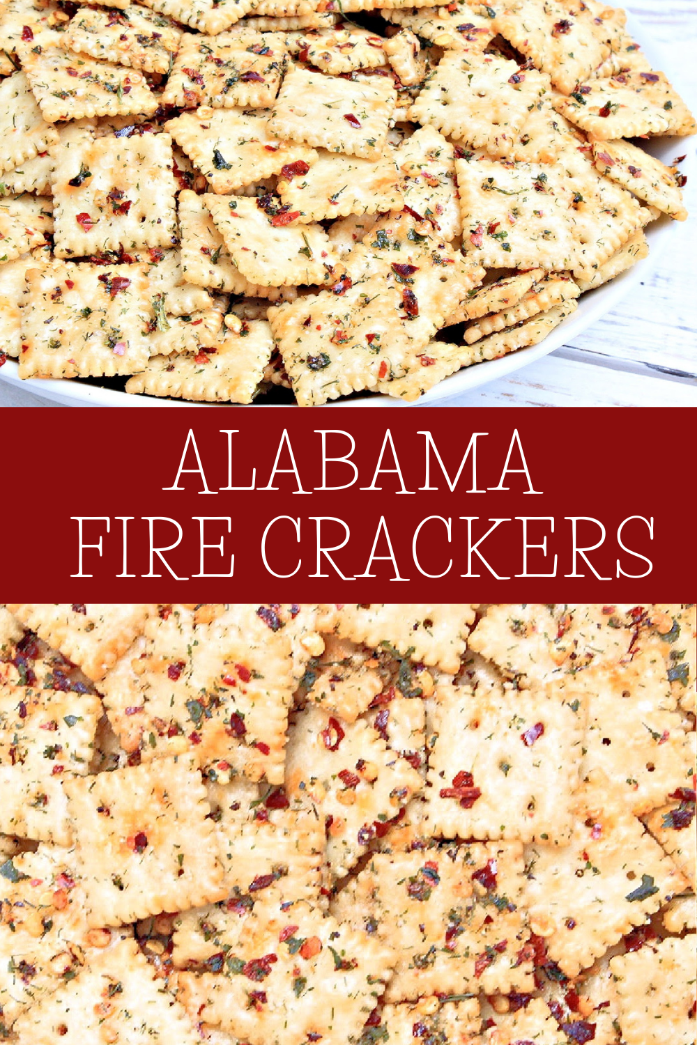 No-Bake and dairy-free Alabama Fire Crackers are loaded with bold and spicy flavor, simple to make, and crazy addictive! Mix up a batch & watch them disappear fast! via @thiswifecooks
