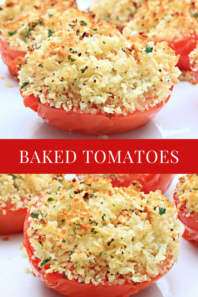 Vine-ripened tomatoes stuffed with savory deliciousness for a quick Italian-style side dish or light meal!