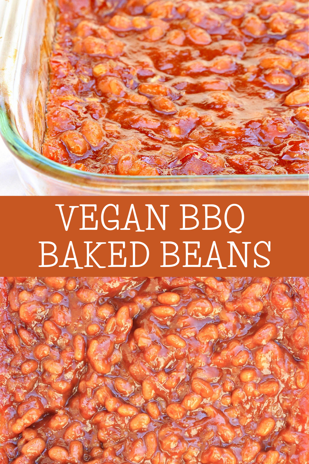 Vegan BBQ Baked Beans ~ A sweet and savory summer side dish that pairs well with burgers, grilled veggies, and pasta salads. Perfect for Father's Day weekend or the 4th of July! via @thiswifecooks