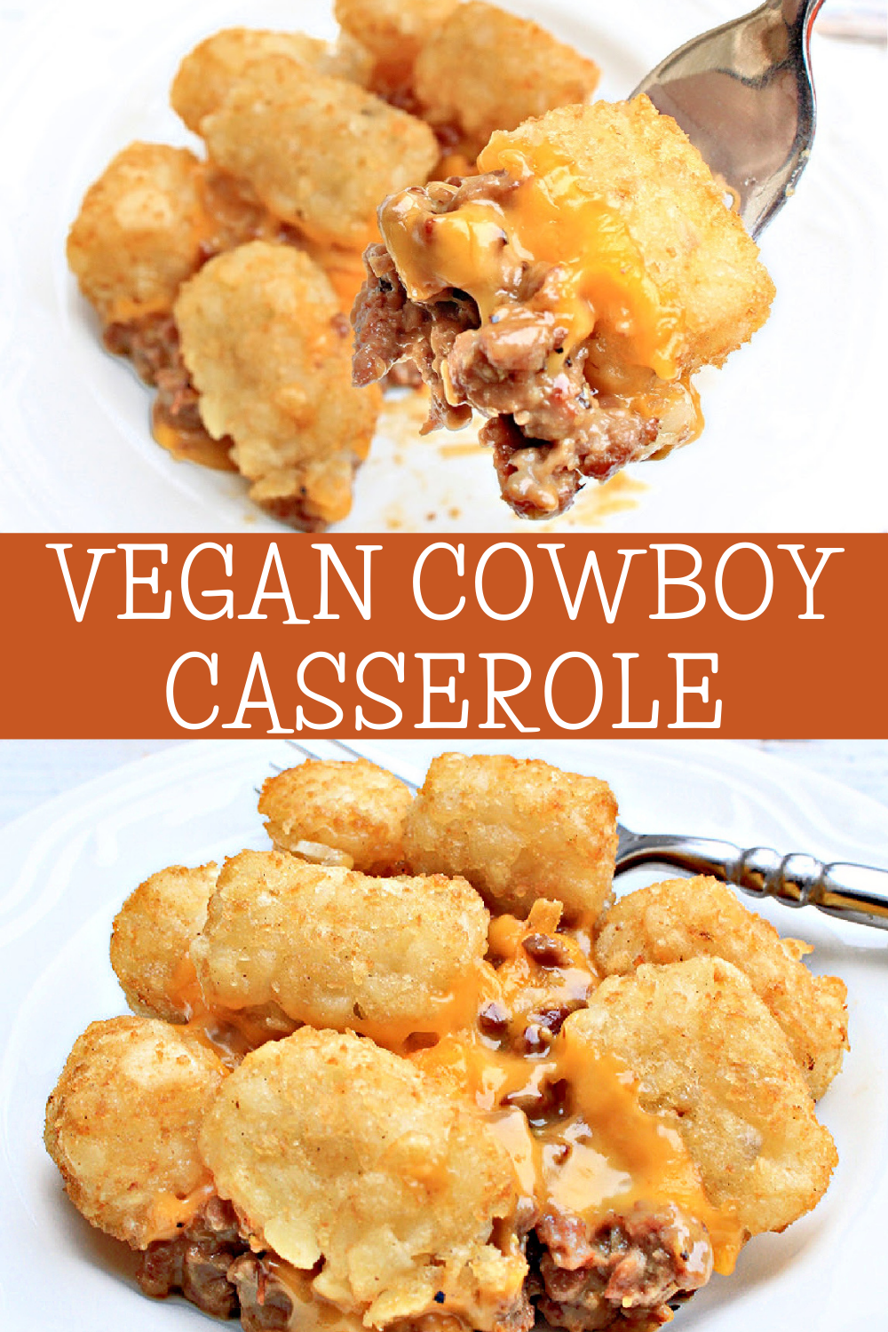 """Cowboy Casserole ~ Kids and adults alike love this hearty and satisfying """"meat and potatoes"""" dinner! Perfect for busy weeknights! #cowboycasserole #tatertotcasserole #thiswifecooks via @thiswifecooks"""