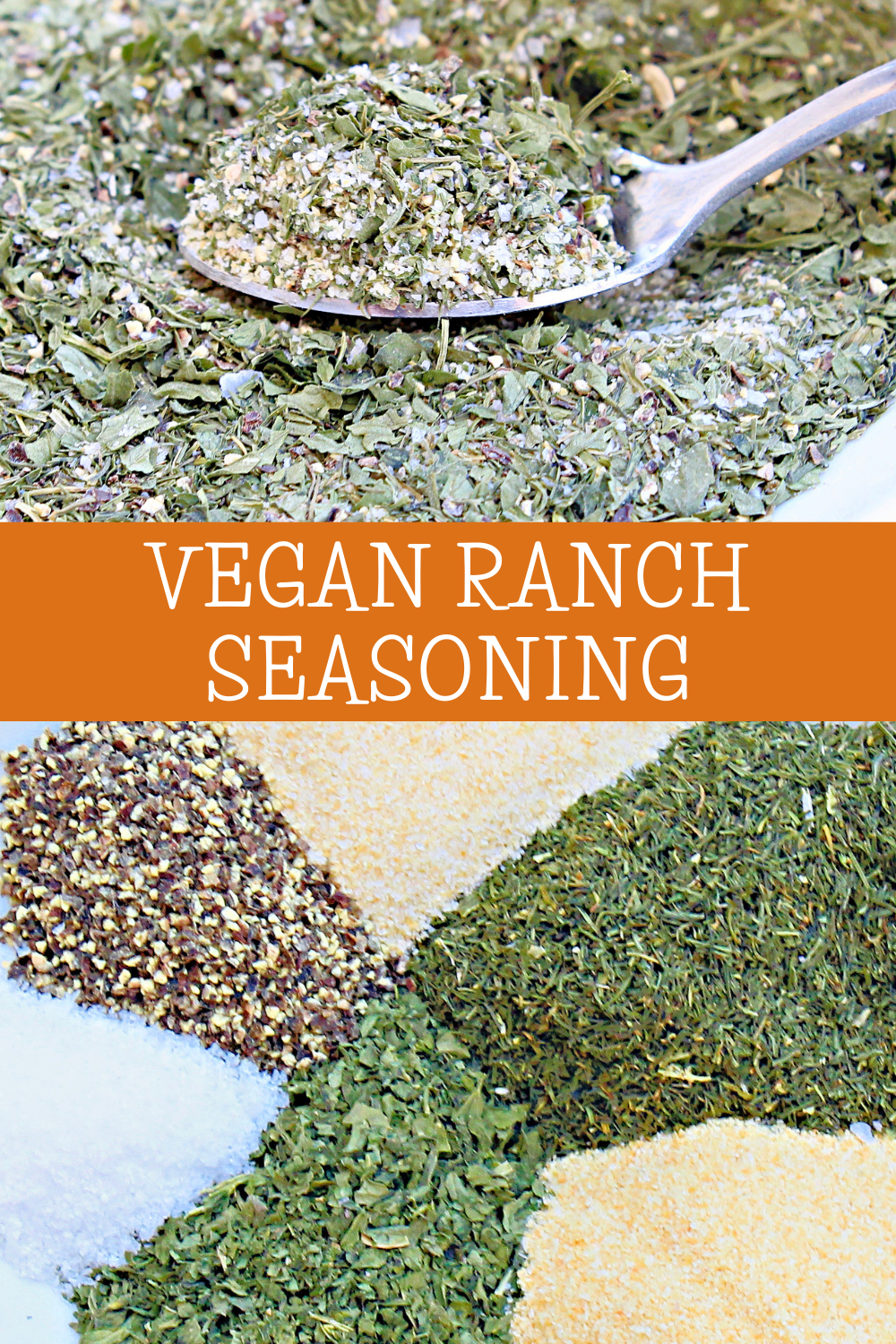 Vegan Ranch Seasoning ~ Got a recipe that calls for a packet of ranch dressing mix? This dairy-free blend is easy to whip up in minutes with just 6 simple ingredients from the spice cabinet. via @thiswifecooks