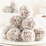 Sweet Potato Chocolate Truffles ~ These truffles are naturally sweetened and 100% wholesome. Great as a healthy snack or dessert!